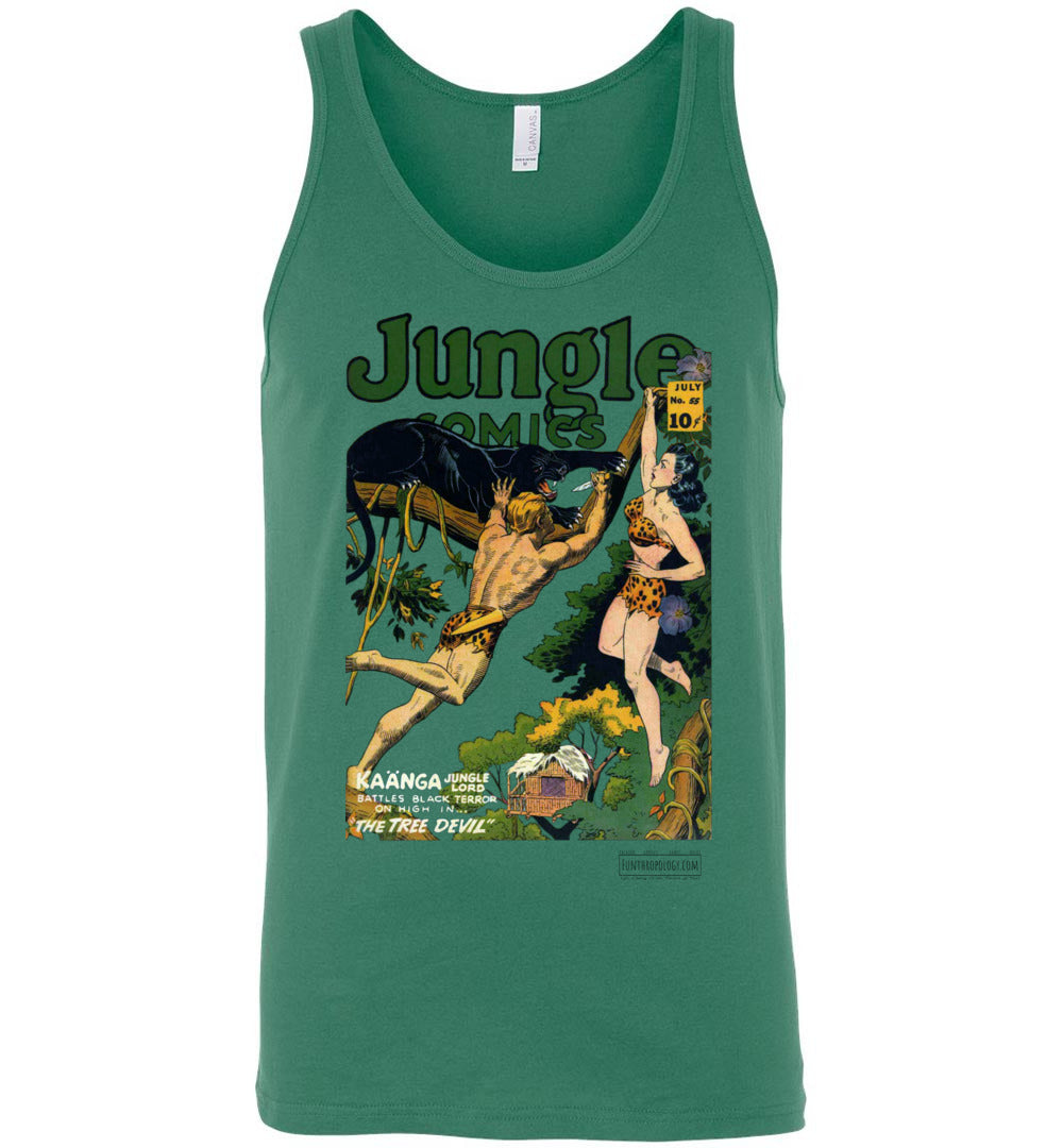 Jungle Comics No.55 Tank Top (Unisex, Light Colors)