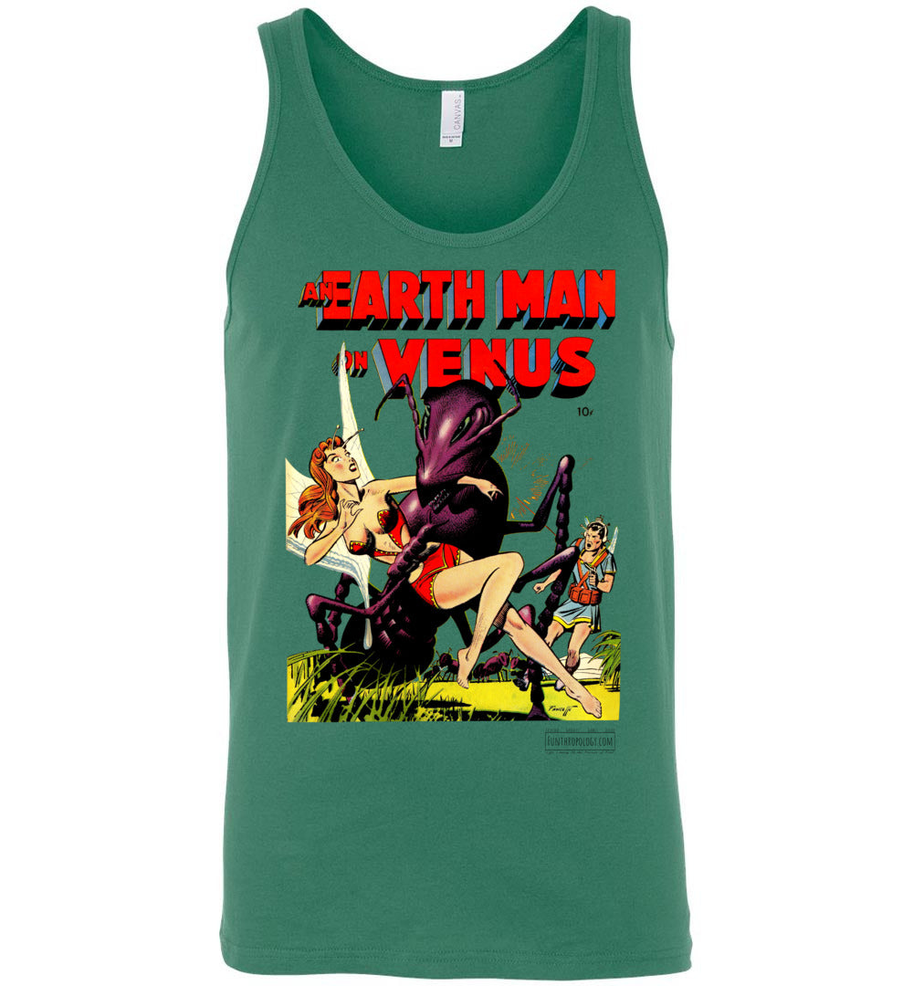 An Earth Man On Venus No.1 Tank Top (Unisex, Light Colors)