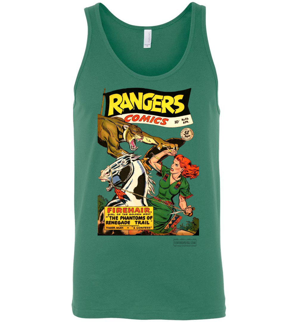 Rangers Comics No.46 Tank Top (Unisex, Light Colors)