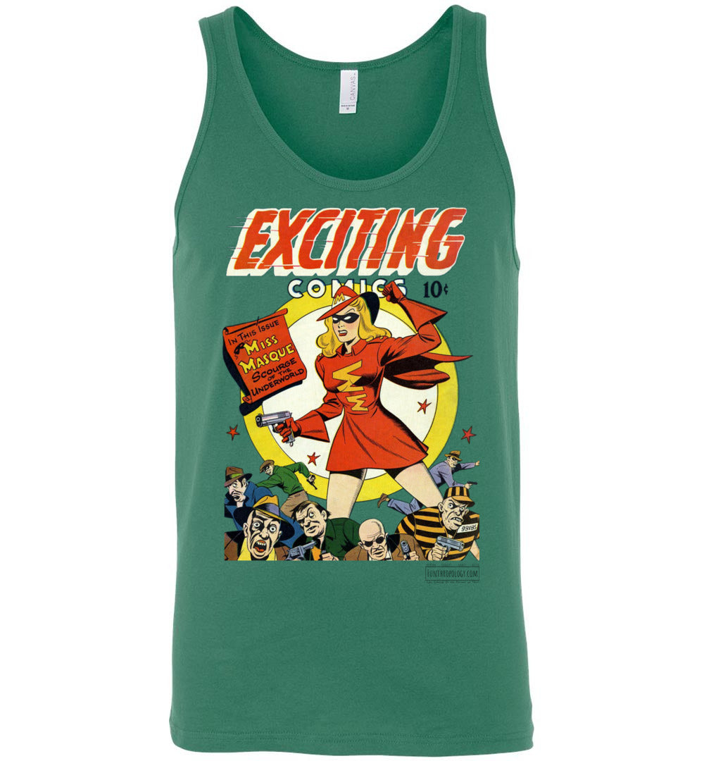 Exciting Comics No.53 Tank Top (Unisex, Light Colors)