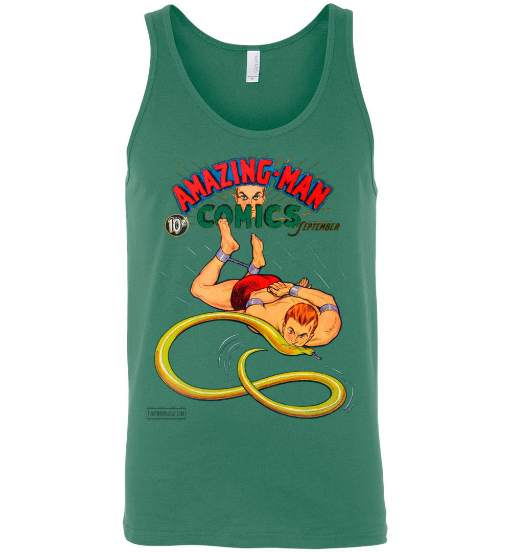 Amazing-Man Comics No.5 Tank Top (Unisex, Light Colors)