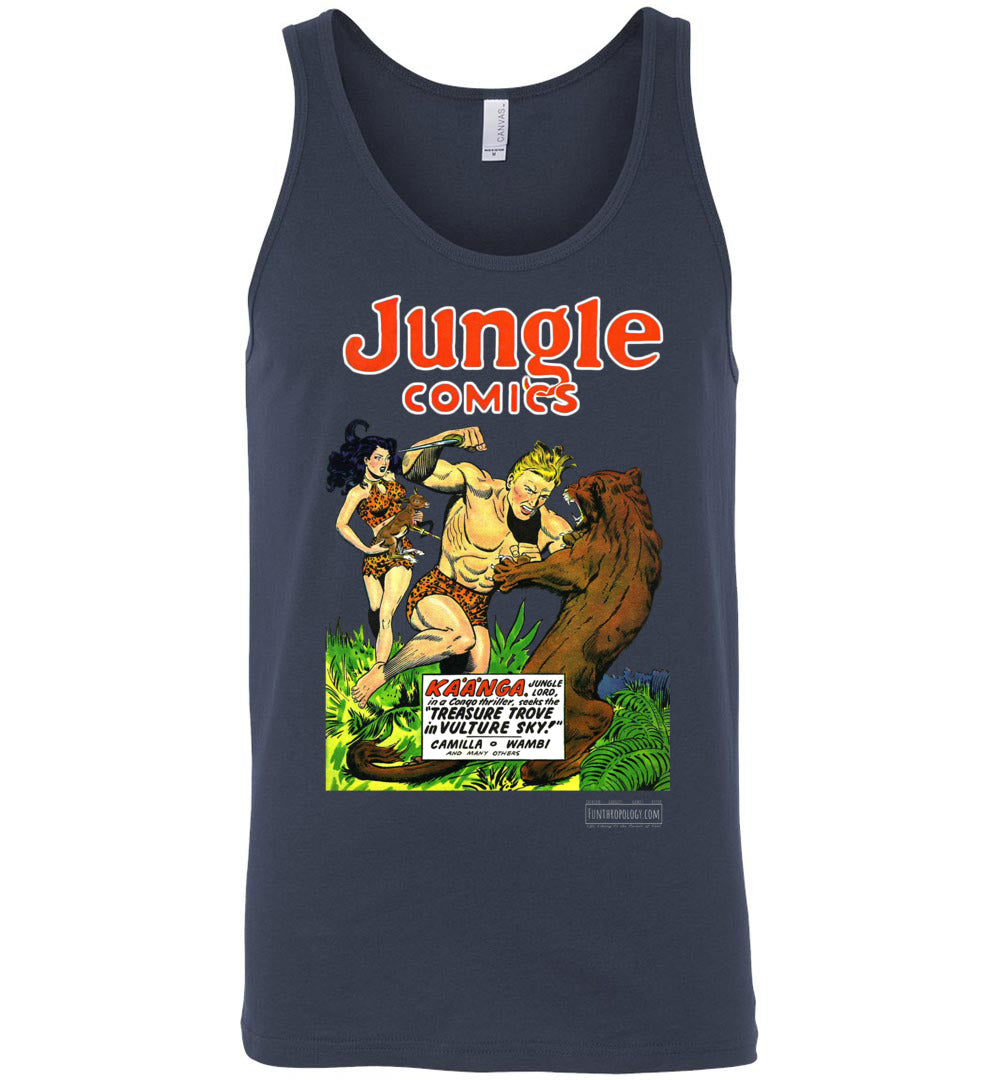 Jungle Comics No.115 Tank Top (Unisex, Dark Colors)