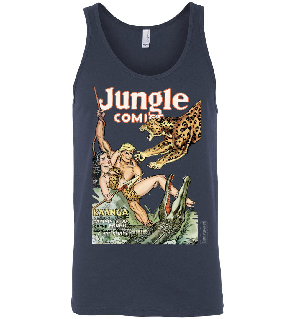 Jungle Comics No.139 Tank Top (Unisex, Dark Colors)
