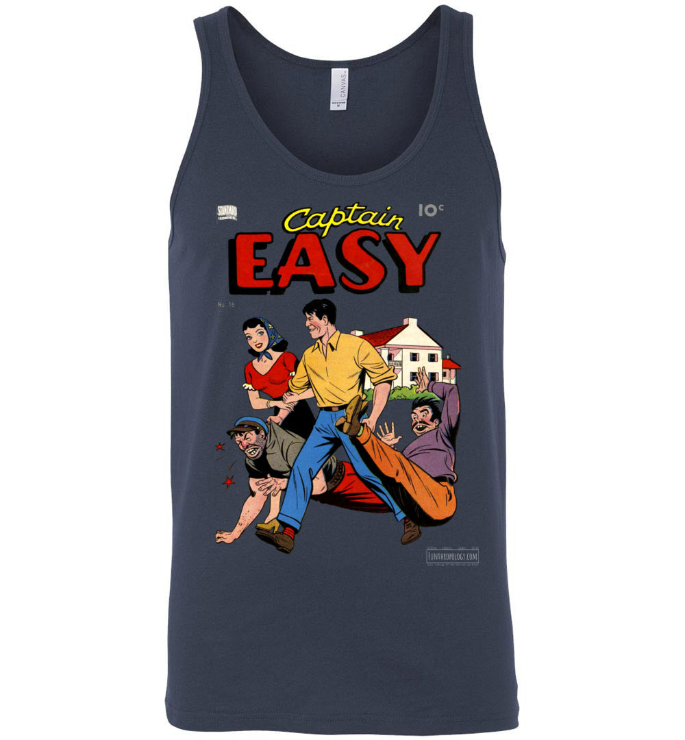 Captain Easy No.16 Tank Top (Unisex, Dark Colors)
