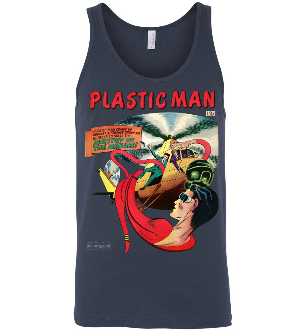 Plastic Man No.11 Tank Top (Unisex, Dark Colors)