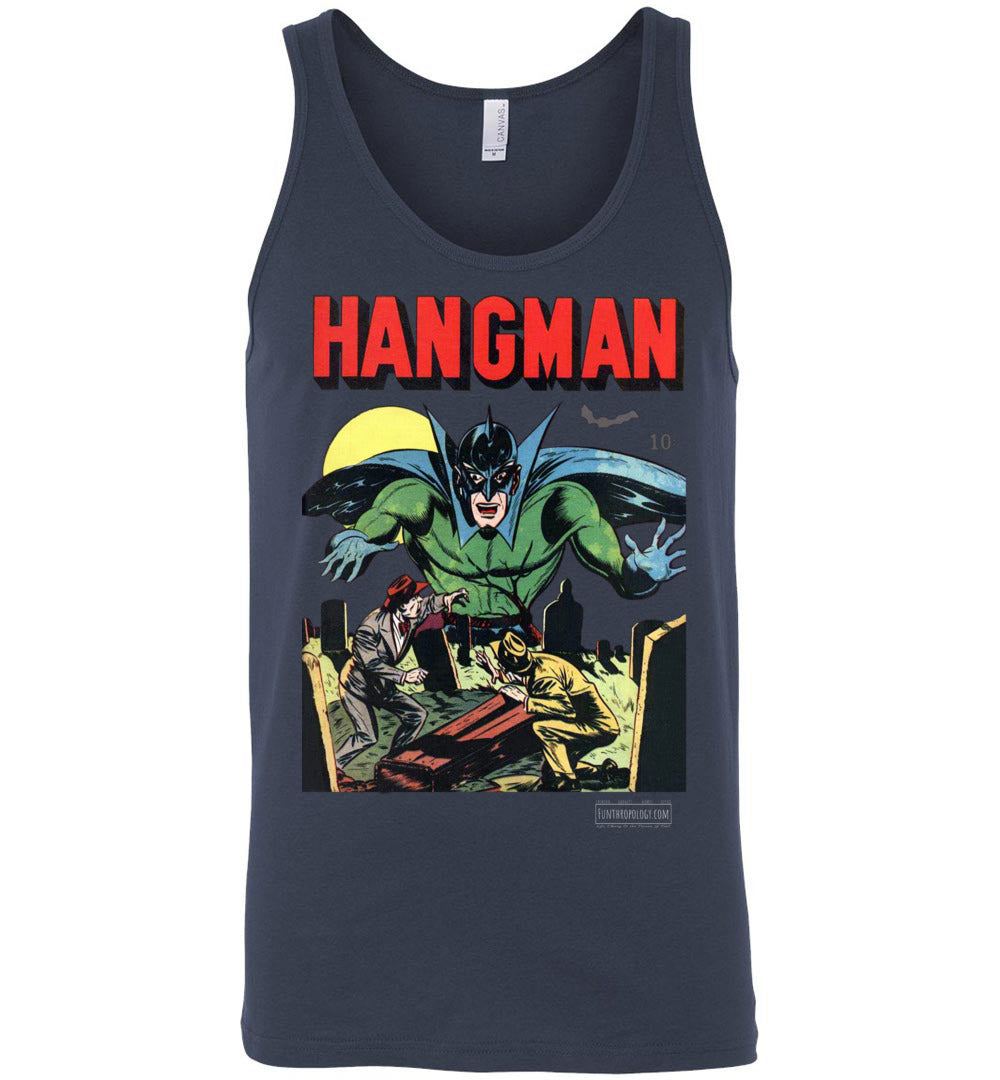 Hangman No.7 Tank Top (Unisex, Dark Colors)
