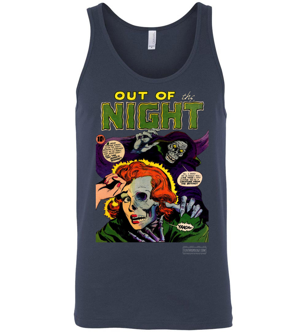 Out Of The Night No.6 Tank Top (Unisex, Dark Colors)