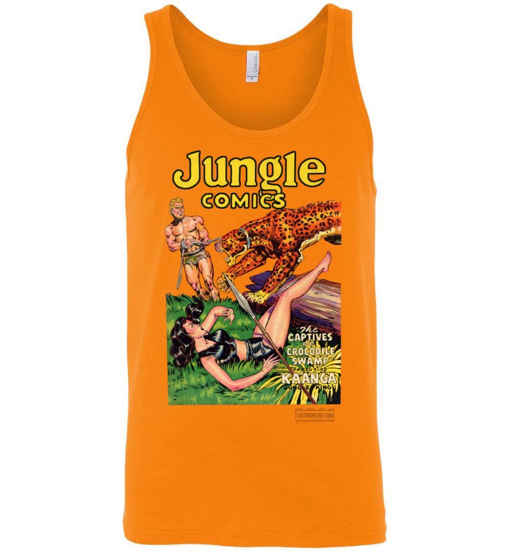 Jungle Comics No.129 Tank Top (Unisex, Light Colors)