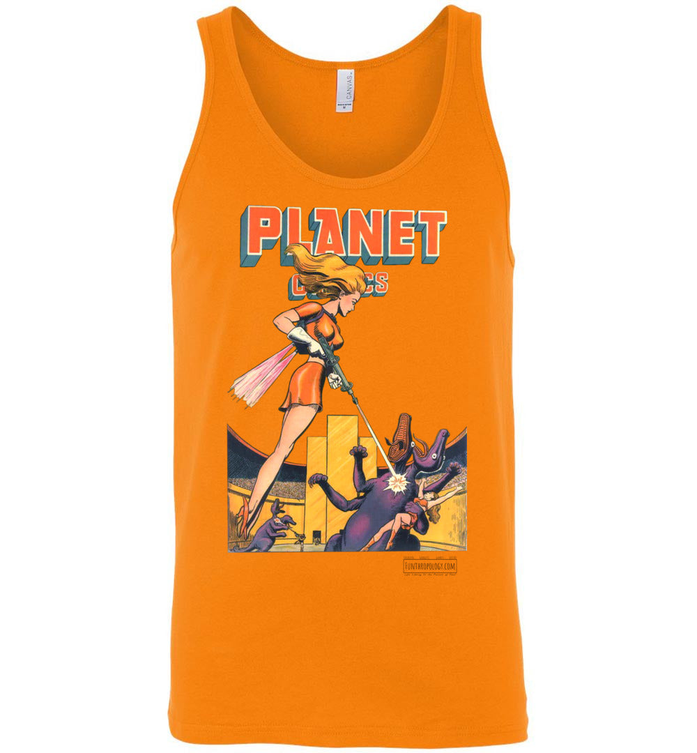 Planet Comics No.38 Tank Top (Unisex, Light Colors)