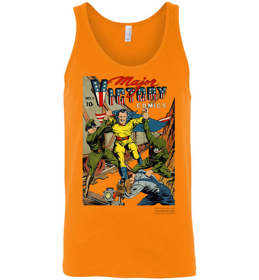 Major Victory Comics No.1 Tank Top (Unisex, Light Colors)