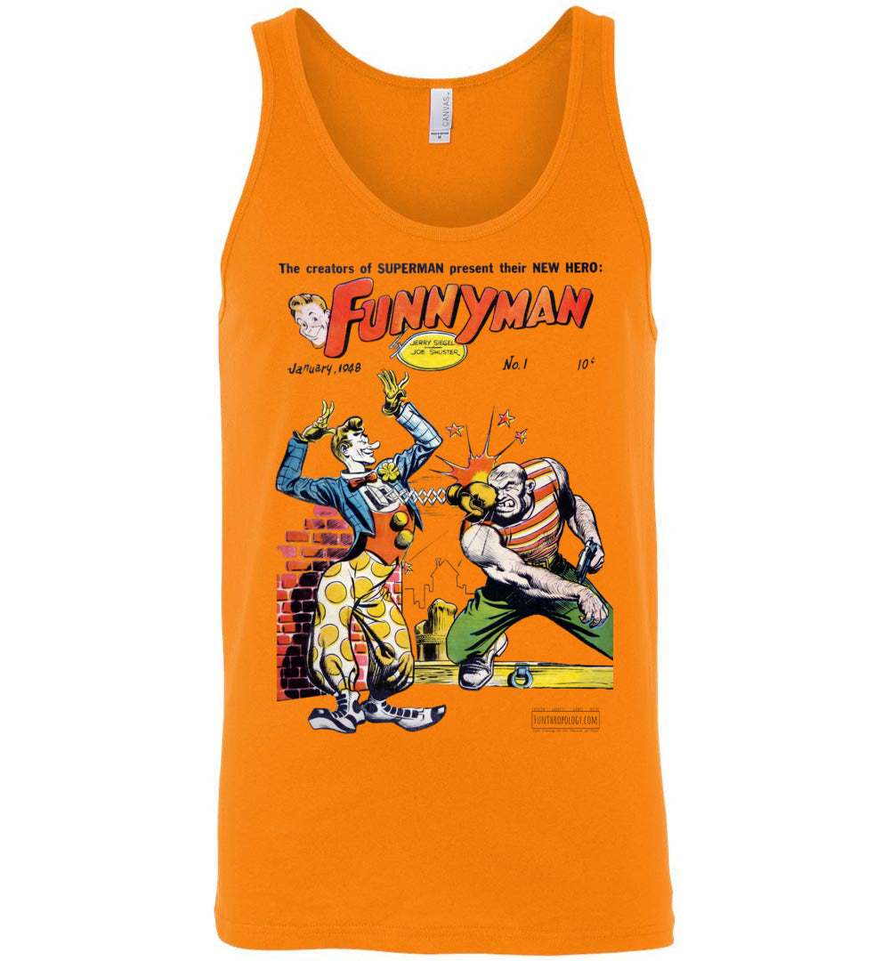 Funnyman No.1 Tank Top (Unisex, Light Colors)