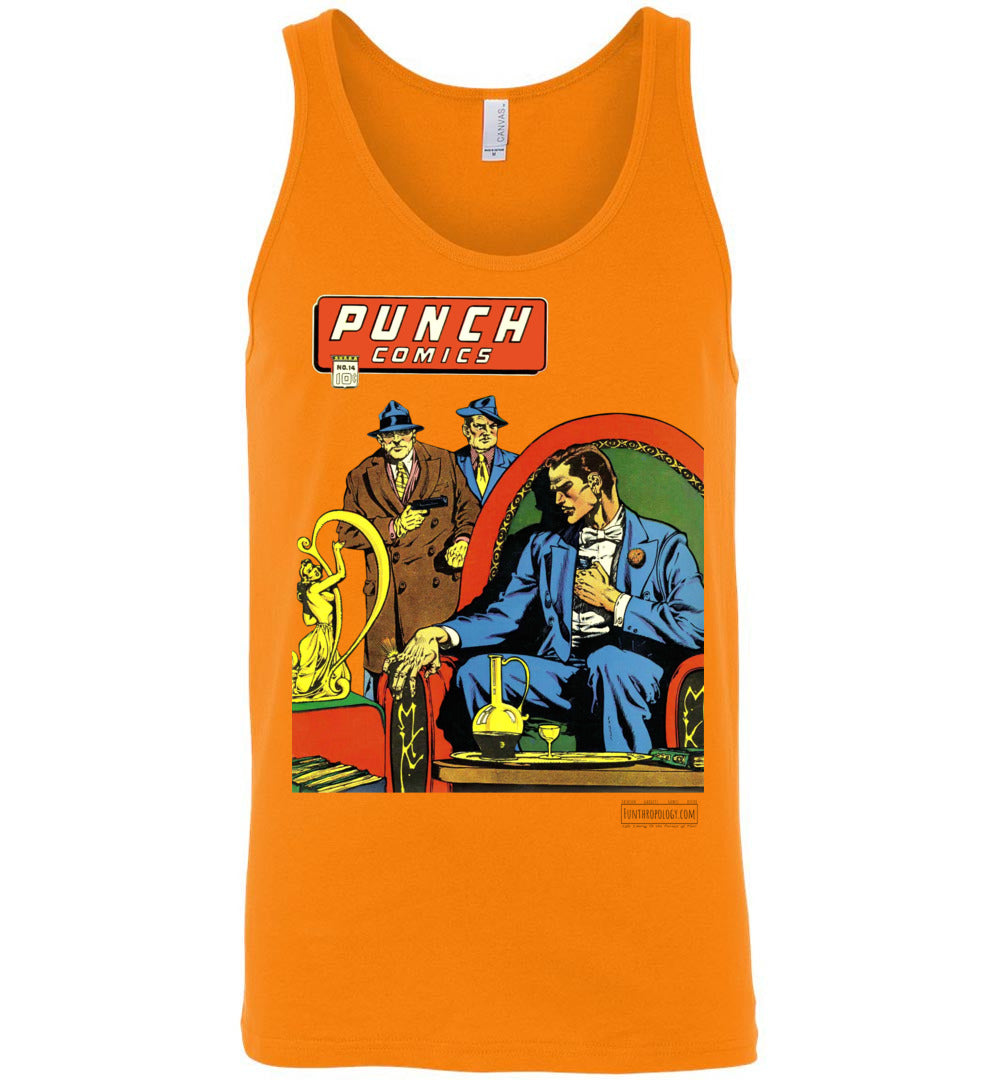 Punch Comics No.14 Tank Top (Unisex, Light Colors)