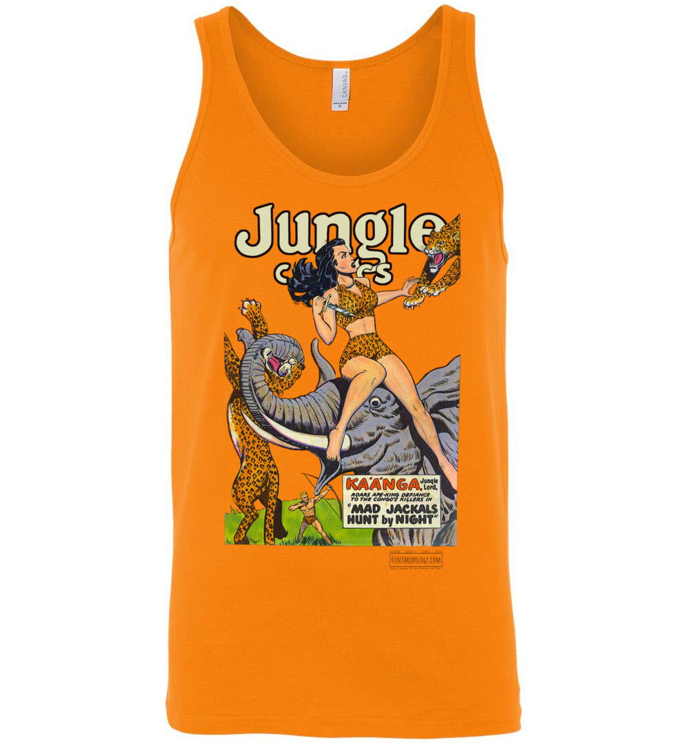 Jungle Comics No.114 Tank Top (Unisex, Light Colors)