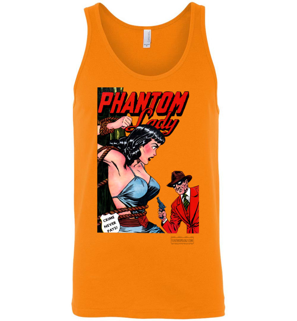 Phantom Lady No.23 Tank Top (Unisex, Light Colors)