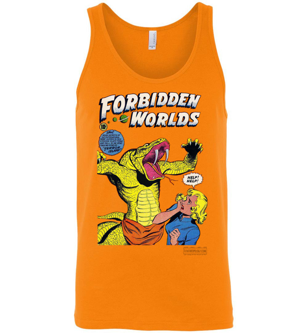 Forbidden Worlds No.20 Tank Top (Unisex, Light Colors)
