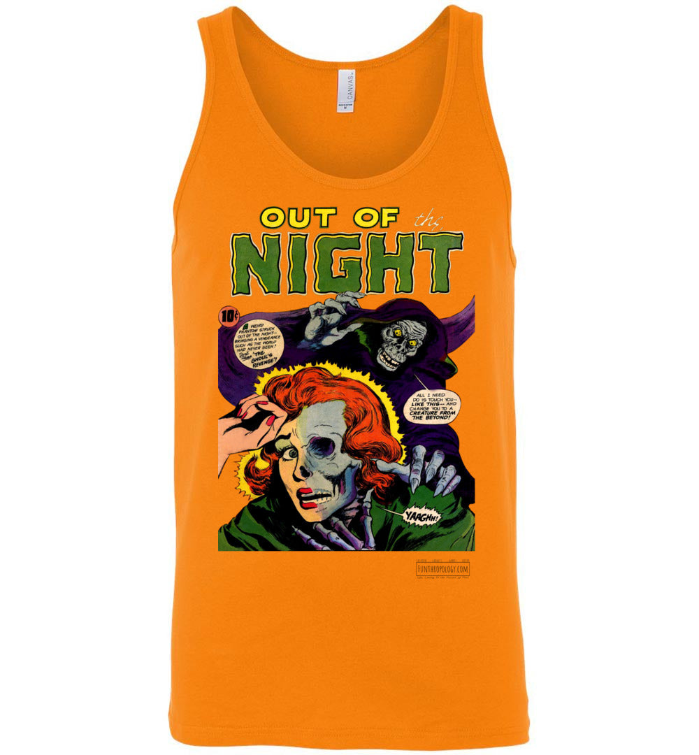 Out Of The Night No.6 Tank Top (Unisex, Light Colors)