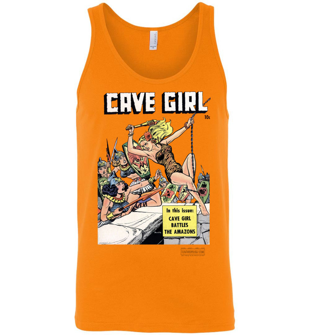 Cave Girl No.13 Tank Top (Unisex, Light Colors)