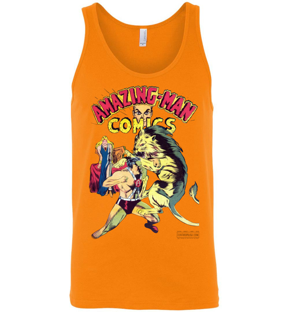 Amazing-Man Comics No.14 Tank Top (Unisex, Light Colors)