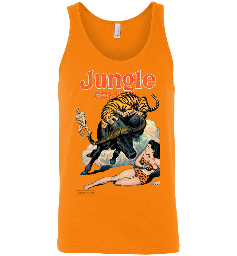 Jungle Comics No.84 Tank Top (Unisex, Light Colors)