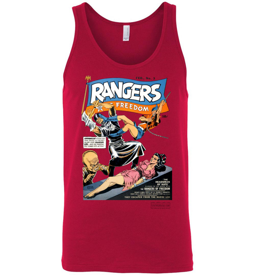 Rangers Comics No.3 Tank Top (Unisex, Light Colors)