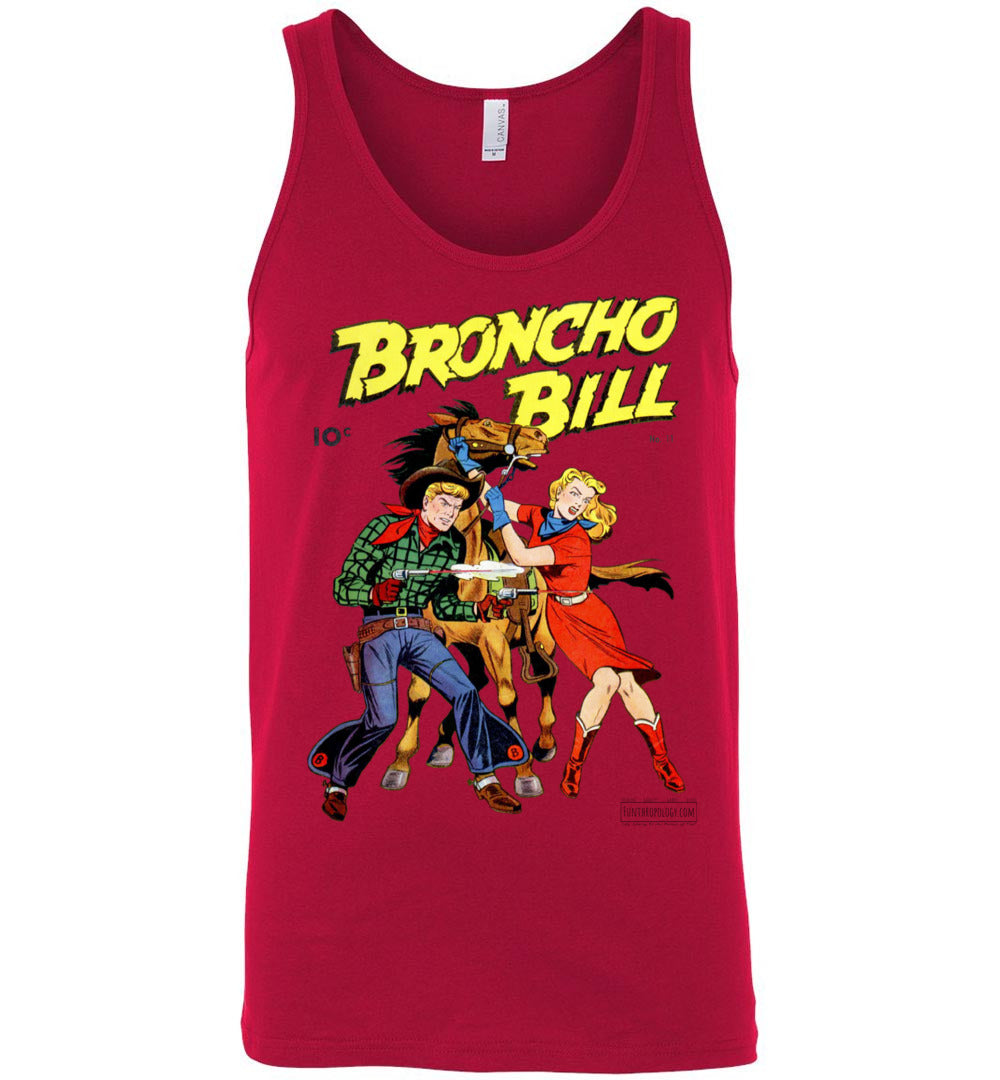 Broncho Bill No.11 Tank Top (Unisex, Light Colors)