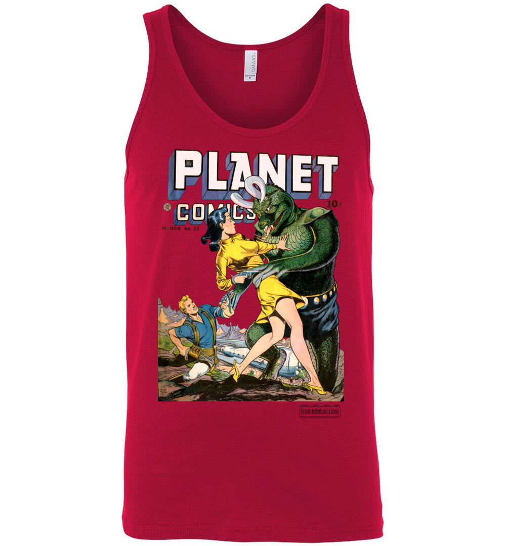 Planet Comics No.23 Tank Top (Unisex, Light Colors)