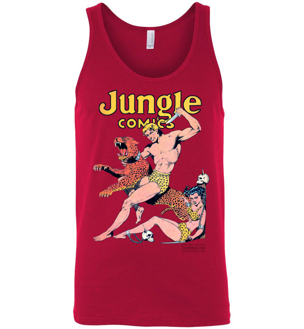 Jungle Comics No.42 Tank Top (Unisex, Light Colors)