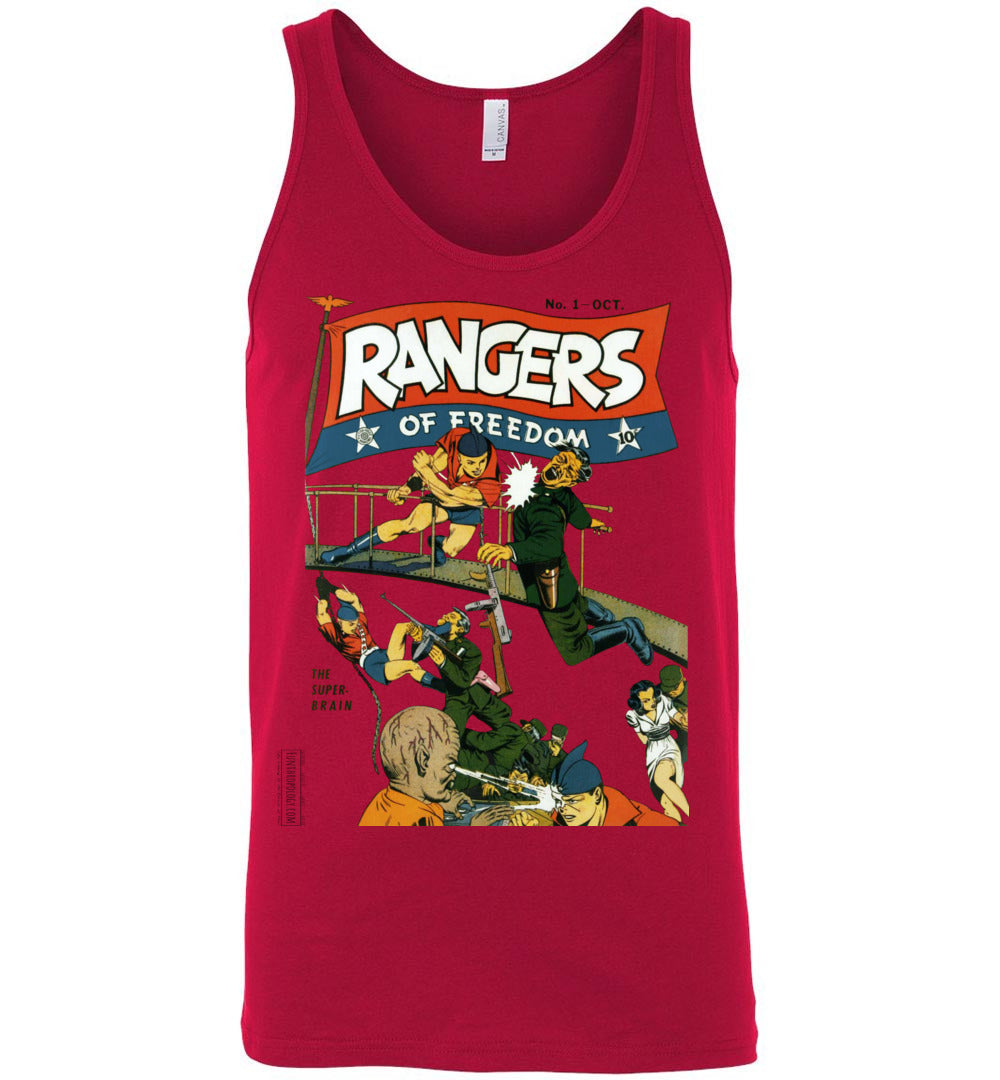 Rangers Comics No.1 Tank Top (Unisex, Light Colors)