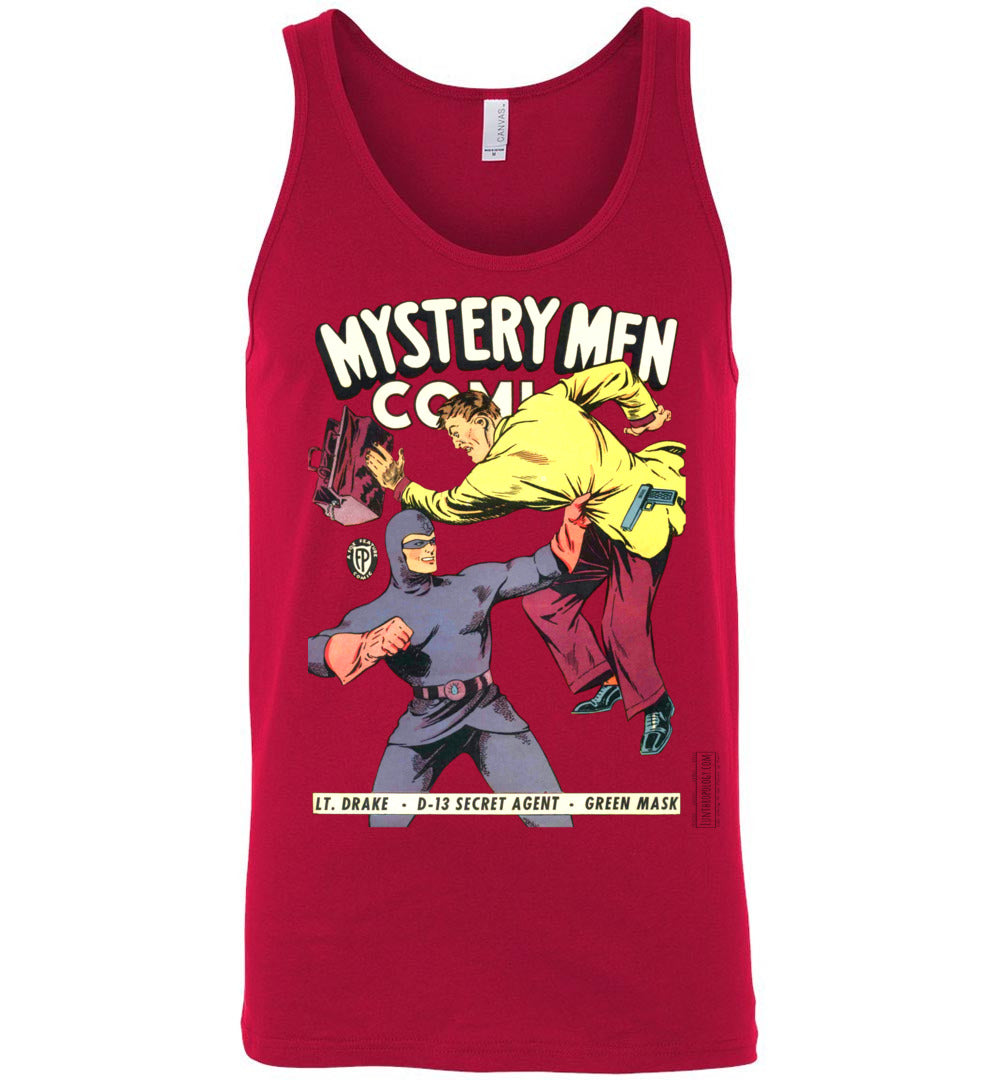 Mystery Men Comics No.18 Tank Top (Unisex, Light Colors)
