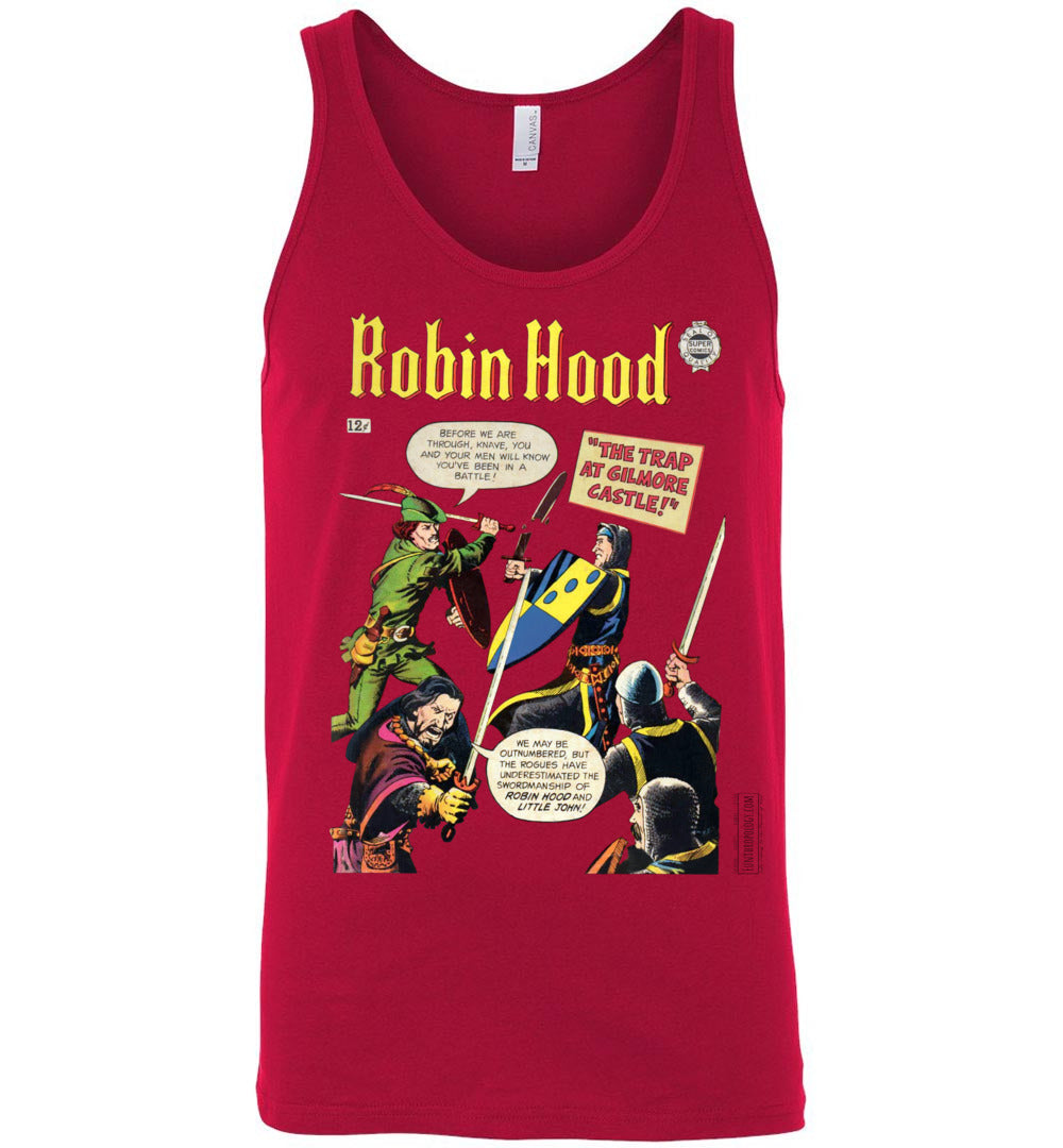 Robin Hood No.10 Tank Top (Unisex, Light Colors)