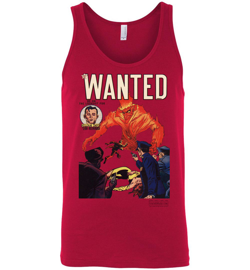 Wanted Comics No.32 Tank Top (Unisex, Light Colors)