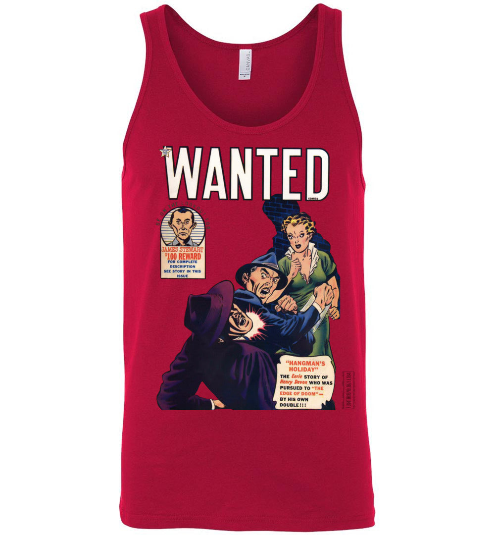 Wanted Comics No.29 Tank Top (Unisex, Light Colors)