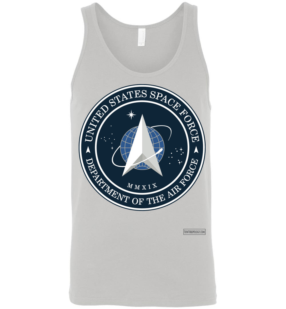 Space Force - Official Insignia Tank Top (Unisex)