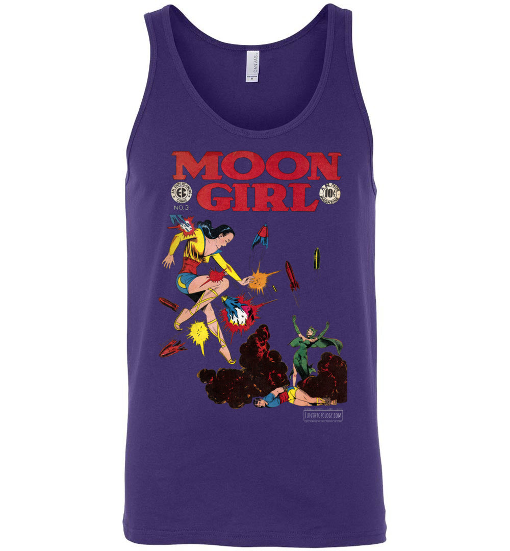 Moon Girl No.3 Tank Top (Unisex, Dark Colors)