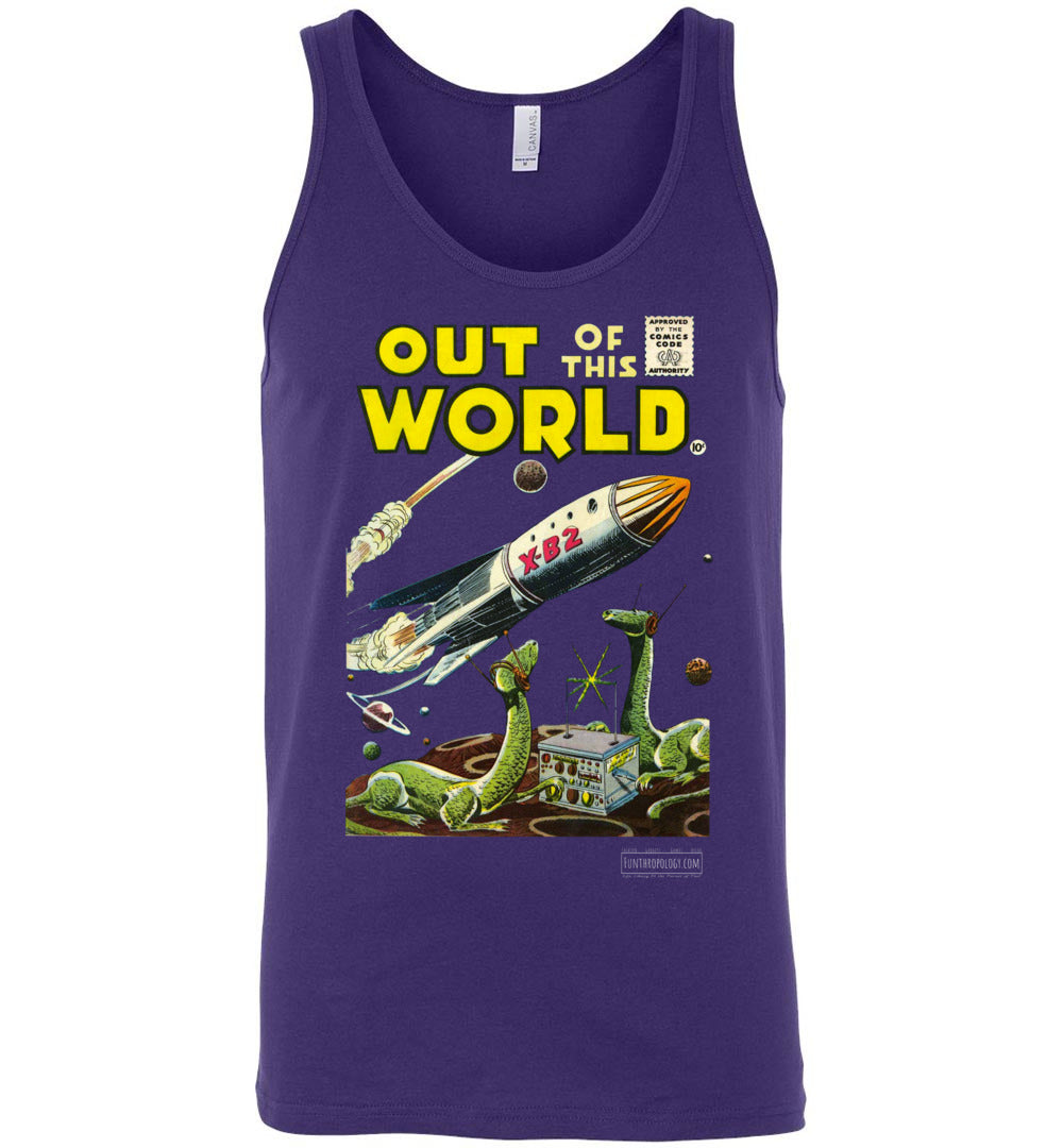 Out Of This World No.1 Tank Top (Unisex, Dark Colors)