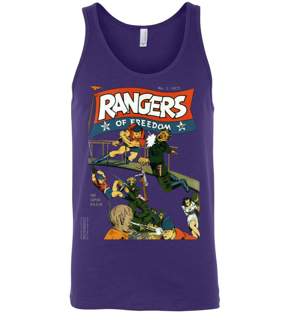 Rangers Comics No.1 Tank Top (Unisex, Dark Colors)