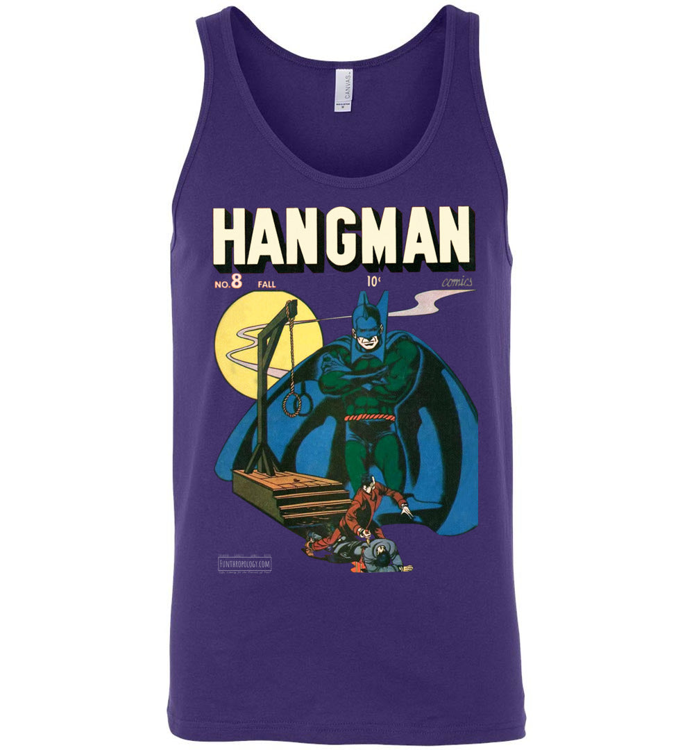 Hangman No.8 Tank Top (Unisex, Dark Colors)