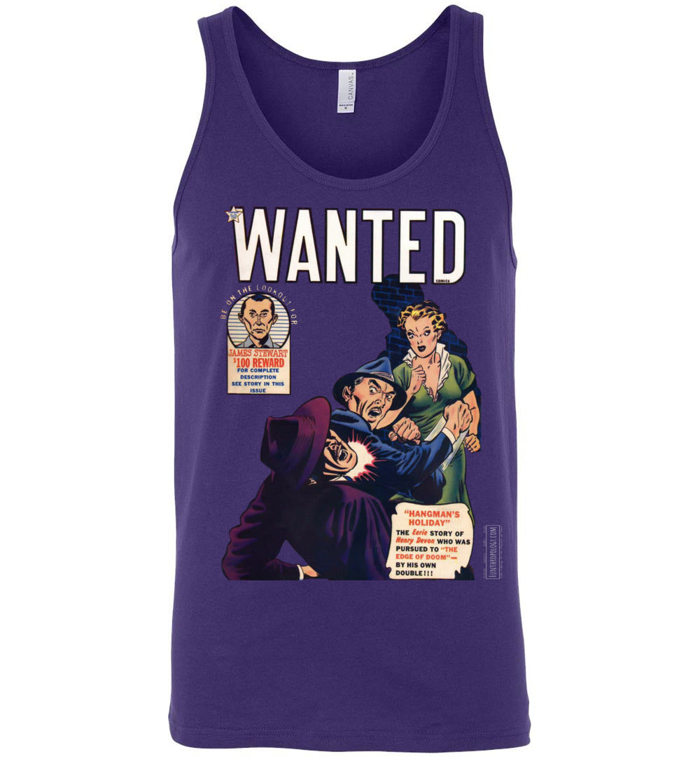 Wanted Comics No.29 Tank Top (Unisex, Dark Colors)