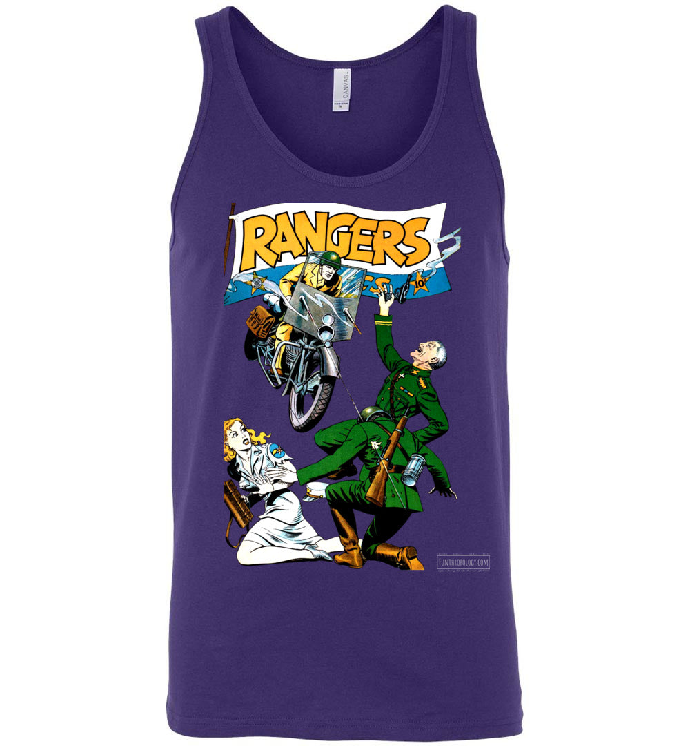 Rangers Comics No.18 Tank Top (Unisex, Dark Colors)