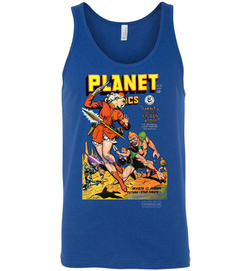 Planet Comics No.55 Tank Top (Unisex, Dark Colors)
