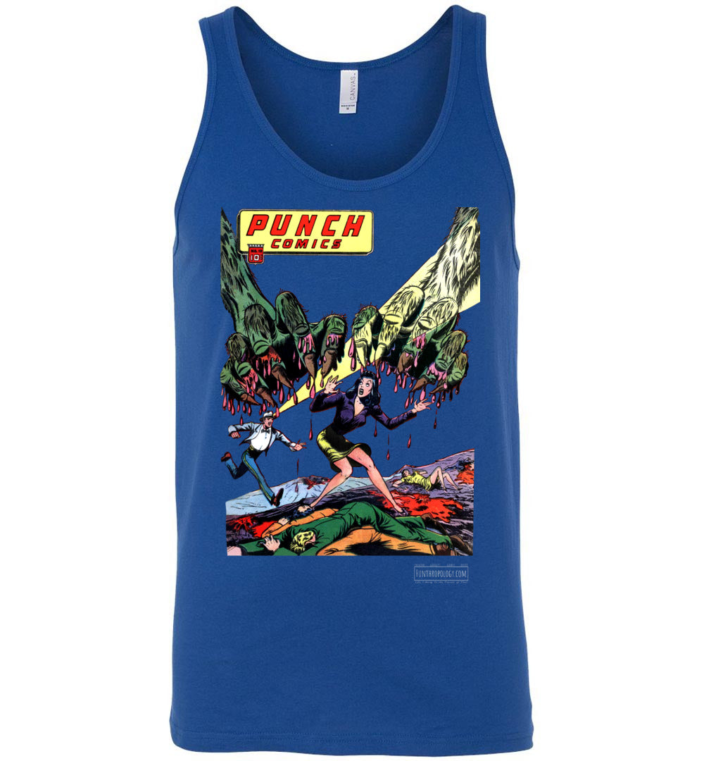 Punch Comics No.19 Tank Top (Unisex, Dark Colors)