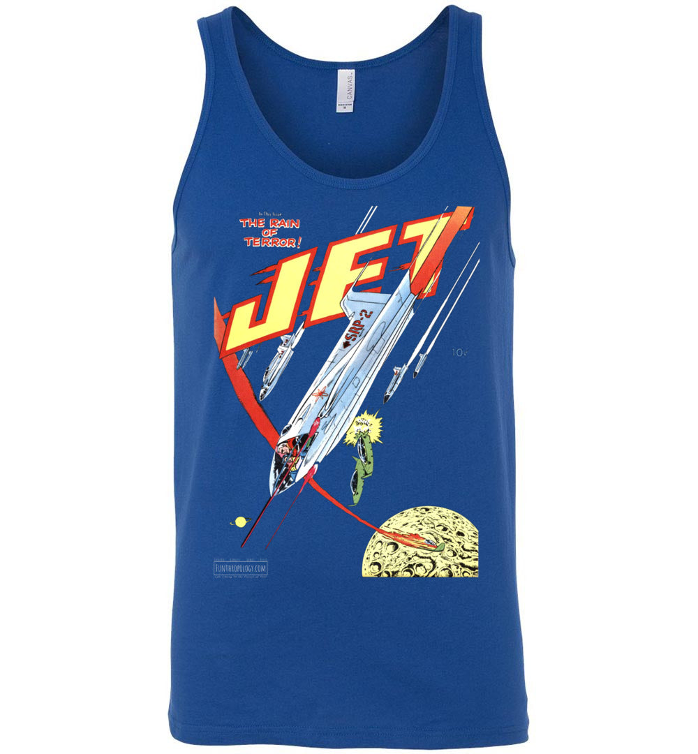 Jet Powers No.4 Tank Top (Unisex, Dark Colors)