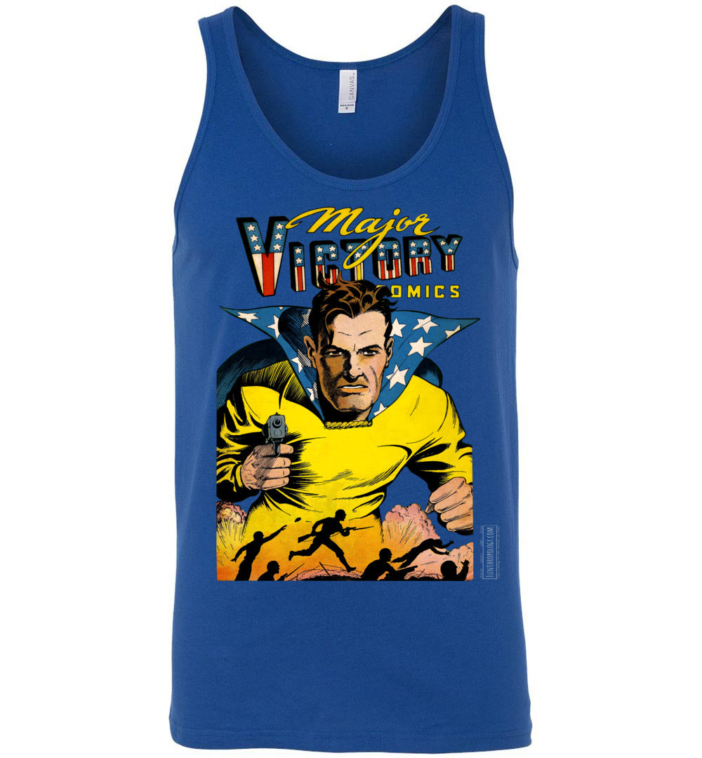 Major Victory Comics No.2 Tank Top (Unisex, Dark Colors)