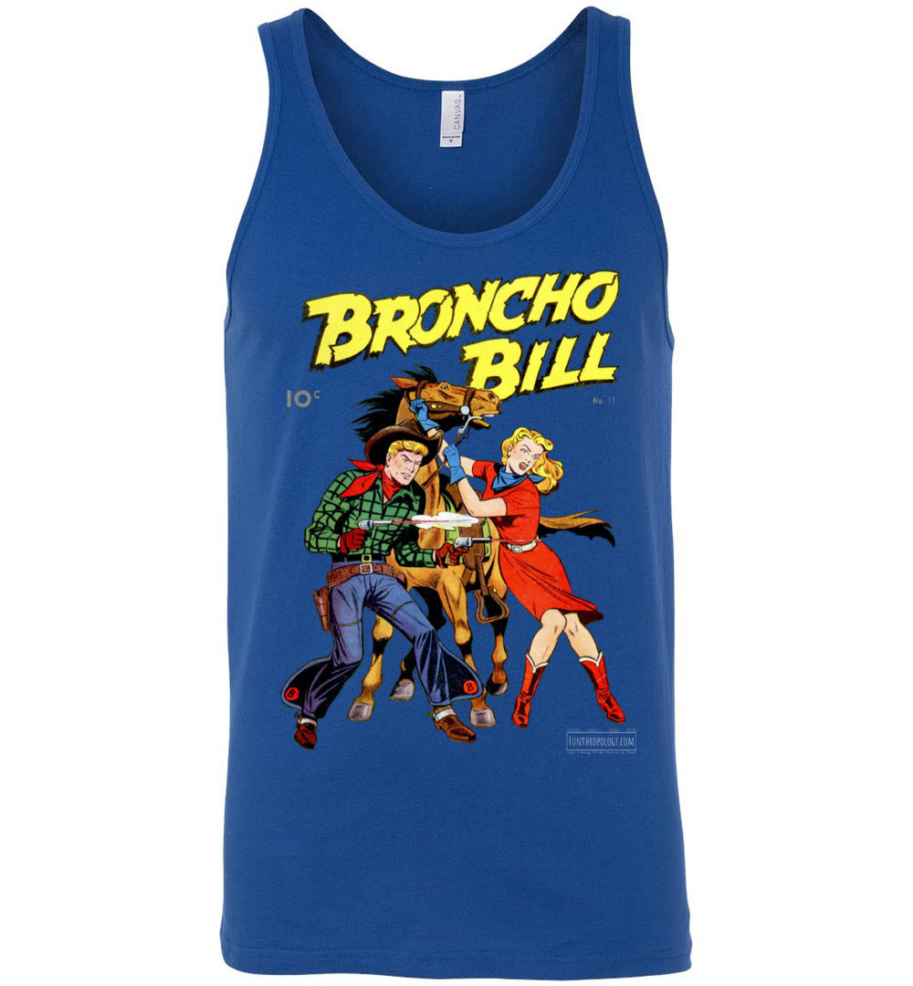 Broncho Bill No.11 Tank Top (Unisex, Dark Colors)