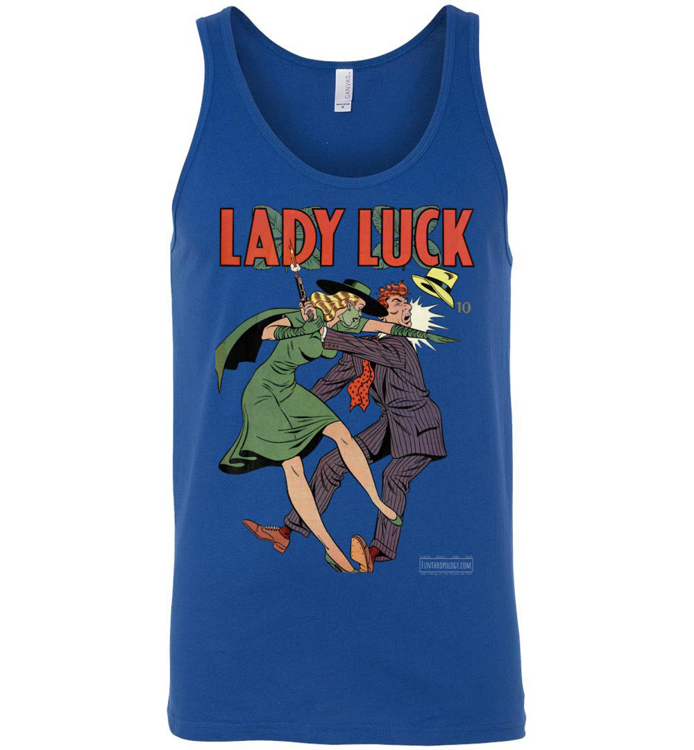 Lady Luck No.88 Tank Top (Unisex, Dark Colors)