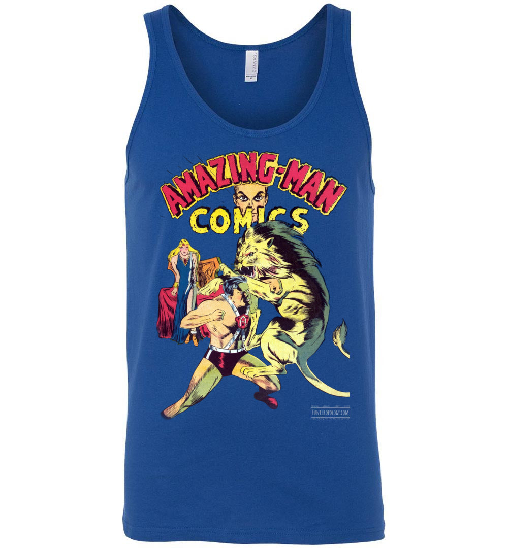 Amazing-Man Comics No.14 Tank Top (Unisex, Dark Colors)
