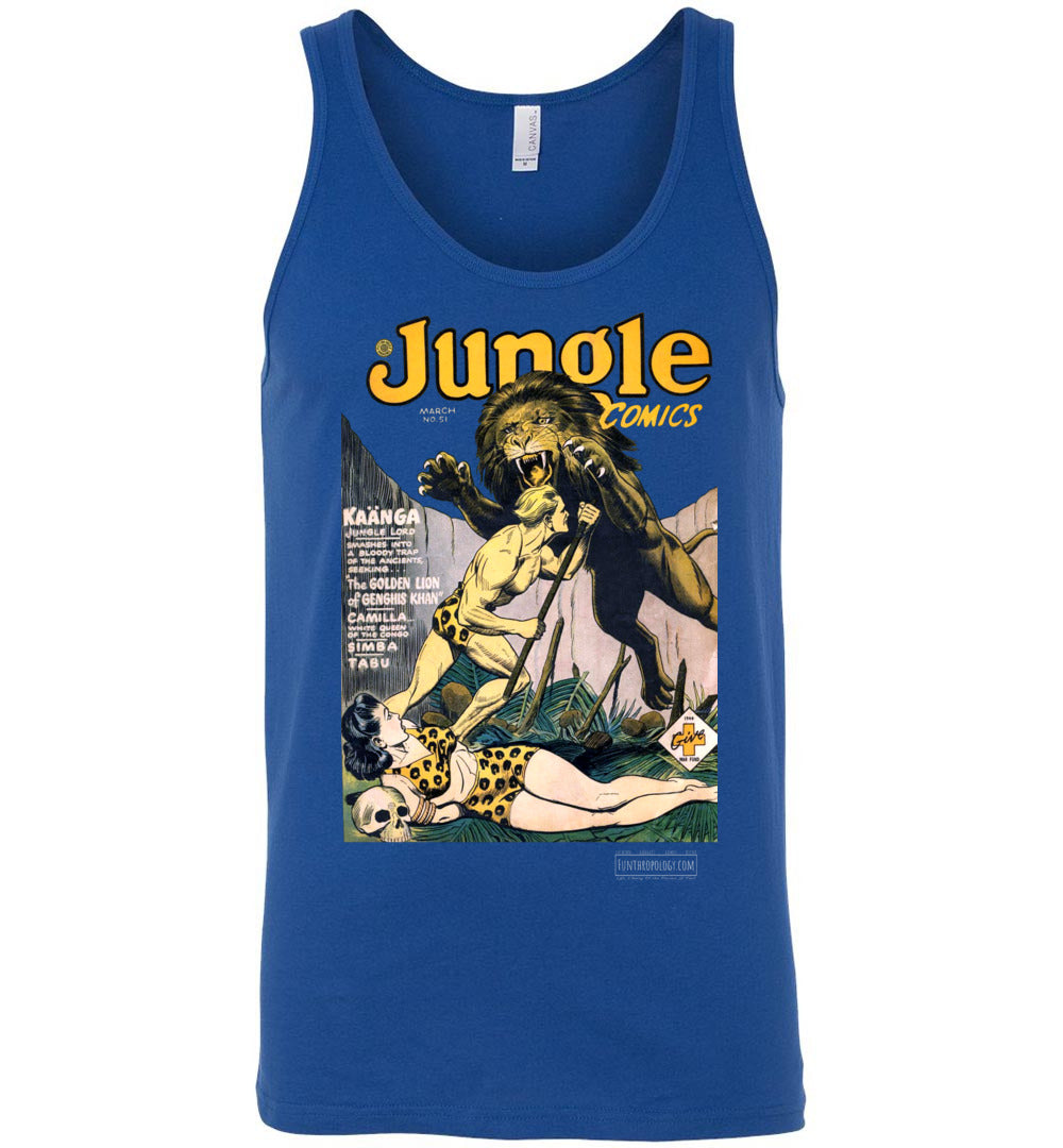 Jungle Comics No.51 Tank Top (Unisex, Dark Colors)