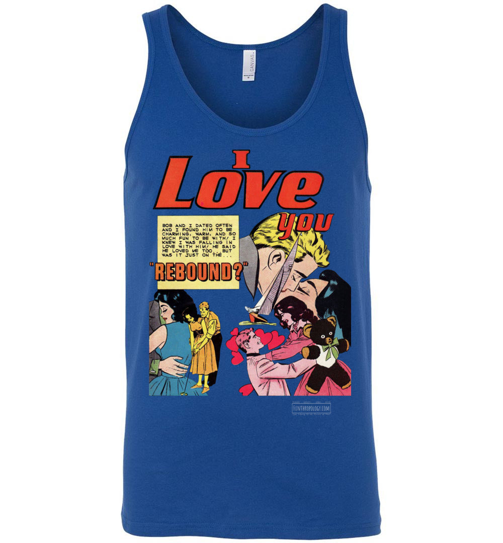 I Love You No.25 Tank Top (Unisex, Dark Colors)