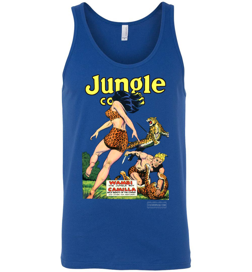 Jungle Comics No.123 Tank Top (Unisex, Dark Colors)