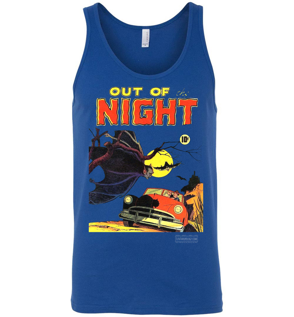 Out Of The Night No.1 Tank Top (Unisex, Dark Colors)
